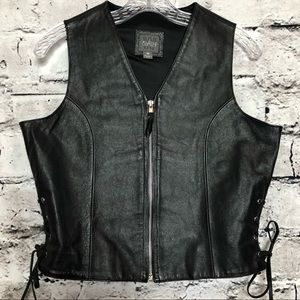 Vintage Wilson's Women's Leather Vest.